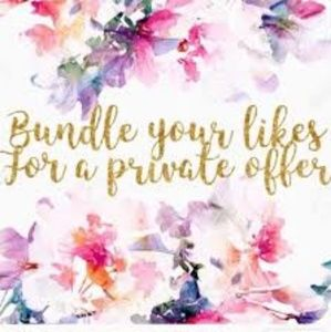 💖Bundle your likes for a private offer 💖